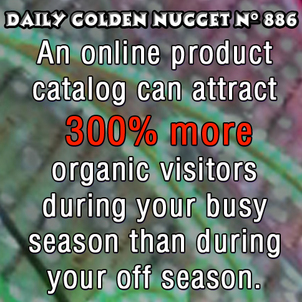 Jewelry Catalog Organic Traffic During the Holiday Season 3990-daily-golden-nugget-886