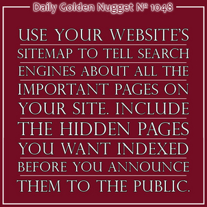 History and Special Uses of the Website Sitemap 4371-daily-golden-nugget-1048