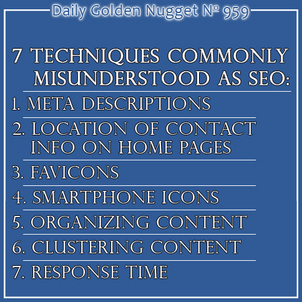 7 Techniques Commonly Misunderstood as SEO 4545-daily-golden-nugget-959