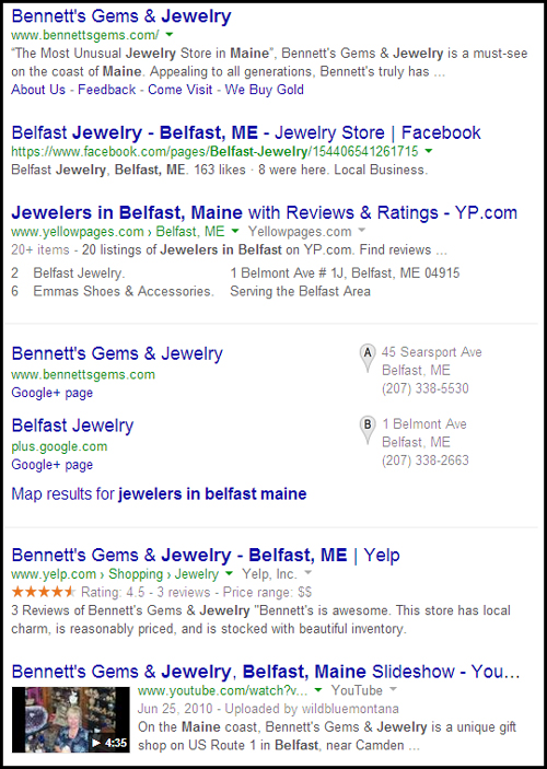 Bennetts Gems and Jewelry Website Review 4640-965-serp