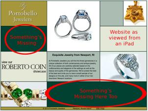 SERP Review of Jewelers in Newport, RI 495-960-ipad