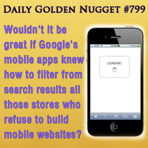 4 Website Reviews as Seen on a Smartphone 515-daily-golden-nugget-799