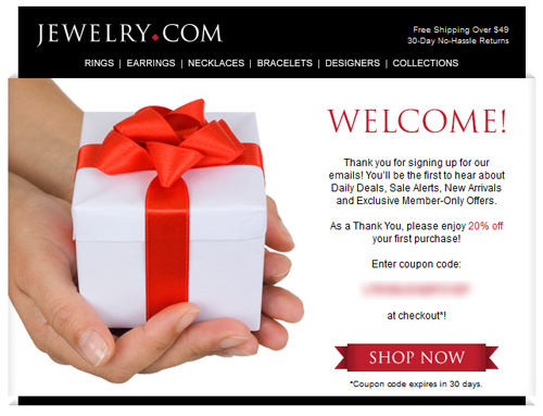 Email Analysis of a Large e-Tail Jeweler 5938-883-welcome