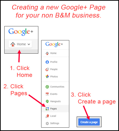How-To Create a New Google+ Page for Non-Local Businesses 5978-961-step1