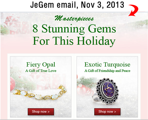 Holiday Season 2013 Email Marketing Review 6160-864-jegem-email