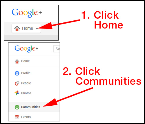 Introduction to Google Plus Communities 6422-956-step1