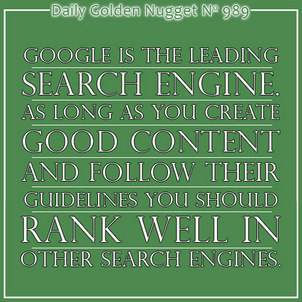 Latest Organic Search Engine Results 668-daily-golden-nugget-989