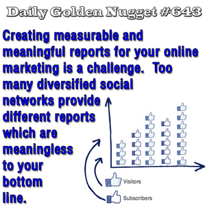 Tribulations of Measuring Online Marketing and Social Networking Results  683-daily-golden-nugget-643