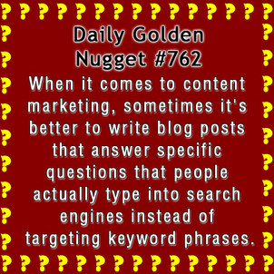 How Do You Target Blogs To Specific Customers Intent? 7234-daily-golden-nugget-762