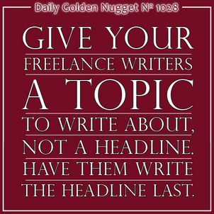 Preventing Writers Block in Your Freelance Writers 7346-daily-golden-nugget-1028