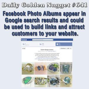 Using Facebook Photo Albums for Your Websites SEO 7395-daily-golden-nugget-641