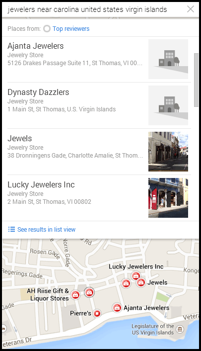 Four Jewelry Store Online Catalog Reviews 7922-1055-google-maps
