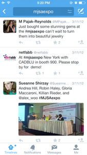 Using Twitter At Live Events 7998-953-mjsaexpo-hashtags