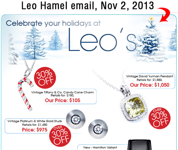 Holiday Season 2013 Email Marketing Review 8018-864-leo-hamel-email