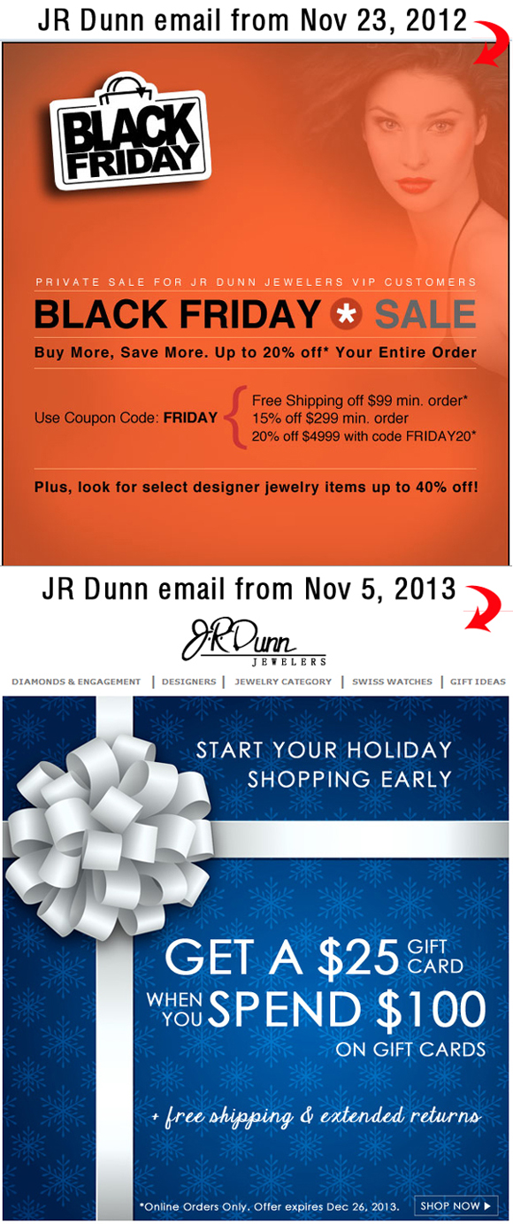 Holiday Season 2013 Email Marketing Review 8023-864-jrdunn-email