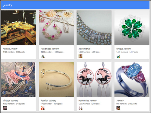 Introduction to Google Plus Communities 8259-956-jewelry-communities