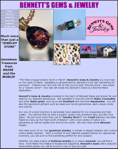 Bennetts Gems and Jewelry Website Review 8289-965-home-page