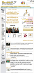 Sullivans Jewelers Website Review 8418-975-home-page