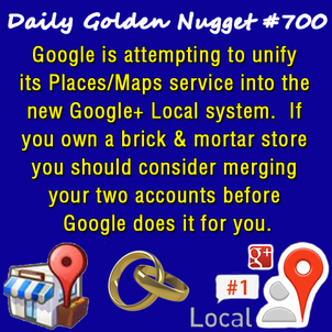 Marriage of Google+ Local and Google+ Page 8636-daily-golden-nugget-700
