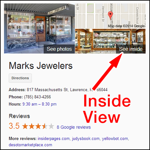 Review of Marks Jewelers Virtual Tour 904-970-see-inside