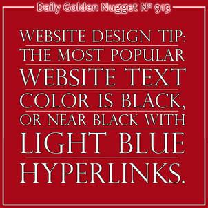 Formatting your Hyperlinks with Underlining, or Not 9080-daily-golden-nugget-913