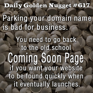 Parking Your New Domain Name 956-daily-golden-nugget-617