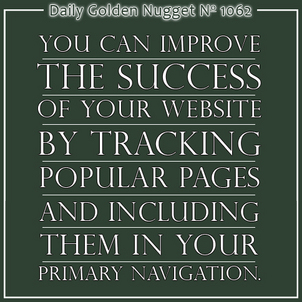 Improve Your Websites Success by Anticipating Your Customers Needs 9565-daily-golden-nugget-1062