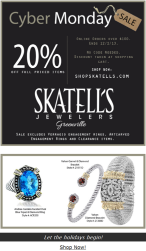 Black Friday and Cyber Monday Email Campaign Mistakes 9911-877-skatells-12-01-2013