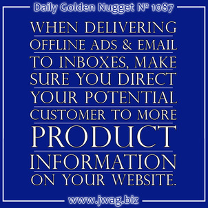 Offline and Email Marketing Campaigns To Sell Your Products daily-golden-nugget-1087-57