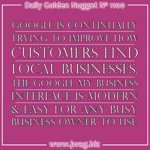 Introduction to Google My Business daily-golden-nugget-1100-6