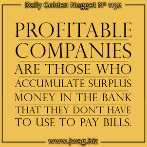 Understanding How-To Be A Profitable Business daily-golden-nugget-1132-93
