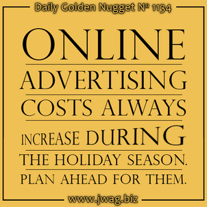 Reason Why Online Ad Costs Increase During the Holiday Season daily-golden-nugget-1134-45