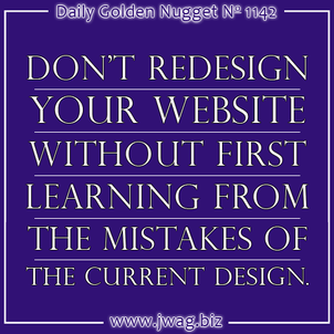 How To Avoid Business Decline During a Website Redesign daily-golden-nugget-1142-17