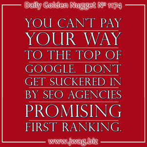 How Can I Get Number 1 Ranking on Google? daily-golden-nugget-1174-76