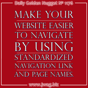Website Navigation Should Be Easy To Understand; Dont Confuse Customers daily-golden-nugget-1176-36
