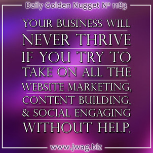 The Value of Content Creation and Content Curation, Part 1 daily-golden-nugget-1183-78