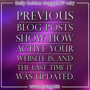 Blog Post Timestamps and How They Appear to Google daily-golden-nugget-1187-54
