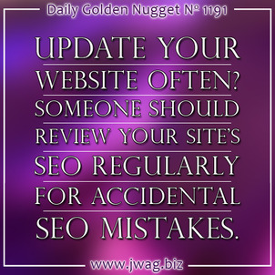 Simple SEO Instructions for Employees Who Update Your Website daily-golden-nugget-1191-59
