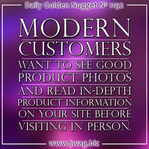 Modern Customers Want to See Product Photos and Product Information on Your Website daily-golden-nugget-1192-17