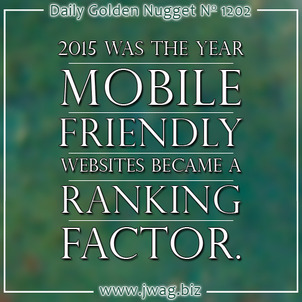 Google Announces Mobile Friendliness Will Be A Real Ranking Factor daily-golden-nugget-1202-73