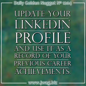 TBT: Why You Should Get Involved With LinkedIn daily-golden-nugget-1204-27