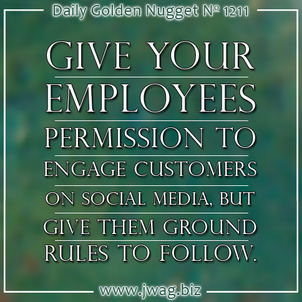 10 Ground Rules For Employees When Using Social Media daily-golden-nugget-1211-39