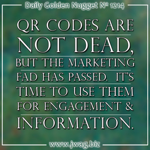 Good and Bad Implementations of QR Codes  daily-golden-nugget-1214-92