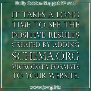 Measured Results After Adding Schema.org Microdata To a Website daily-golden-nugget-1221-24