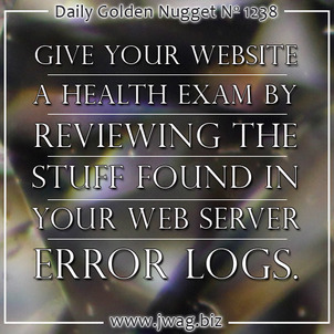 Discover Server Health and Hacking Attempts in Web Server error_log Files daily-golden-nugget-1238-2