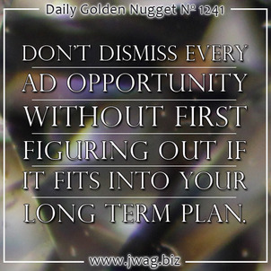 Future Progress and Profit is Unattainable Without Proper Planning daily-golden-nugget-1241-76