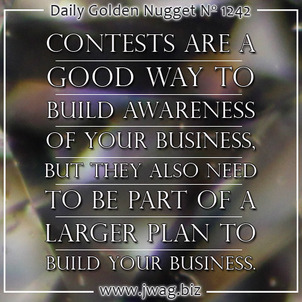 Plan Your Next Contest To Be The First Step in Your Sales Funnel daily-golden-nugget-1242-6