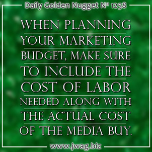 Determining the Cost of Different Methods of Marketing in Your Funnel daily-golden-nugget-1258-48