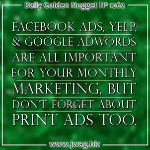 Recommended Monthly Online Marketing for Jewelers daily-golden-nugget-1262-1