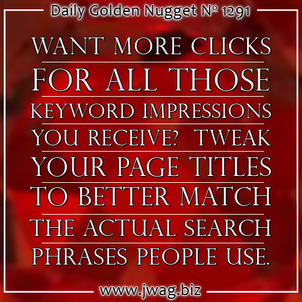 Product Page Titles: Practical SEO Guide daily-golden-nugget-1291-53